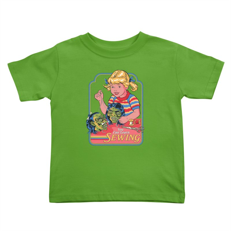 You Can Learn Sewing Kids Toddler T-Shirt by Steven Rhodes