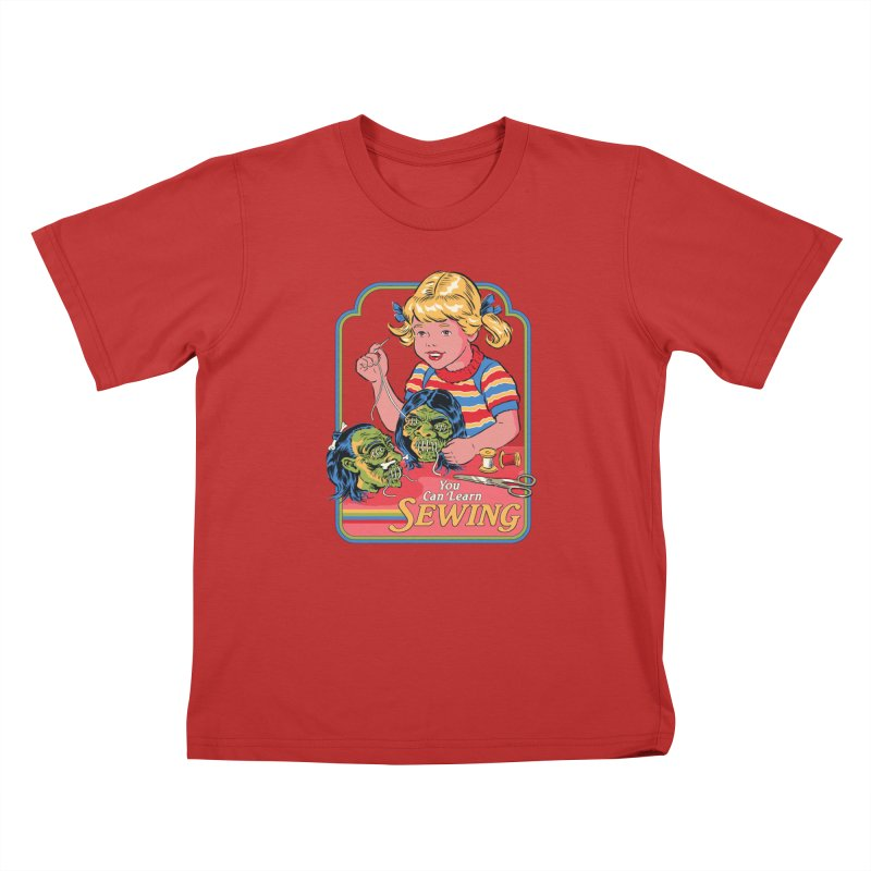 You Can Learn Sewing Kids T-Shirt by Steven Rhodes