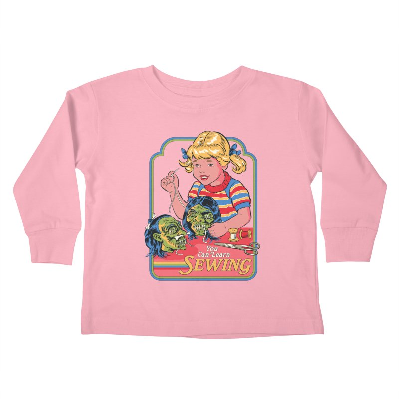 You Can Learn Sewing Kids Toddler Longsleeve T-Shirt by Steven Rhodes