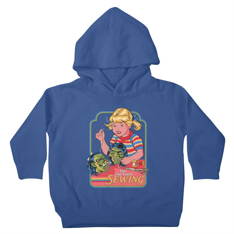You Can Learn Sewing Kids Toddler Pullover Hoody by Steven Rhodes