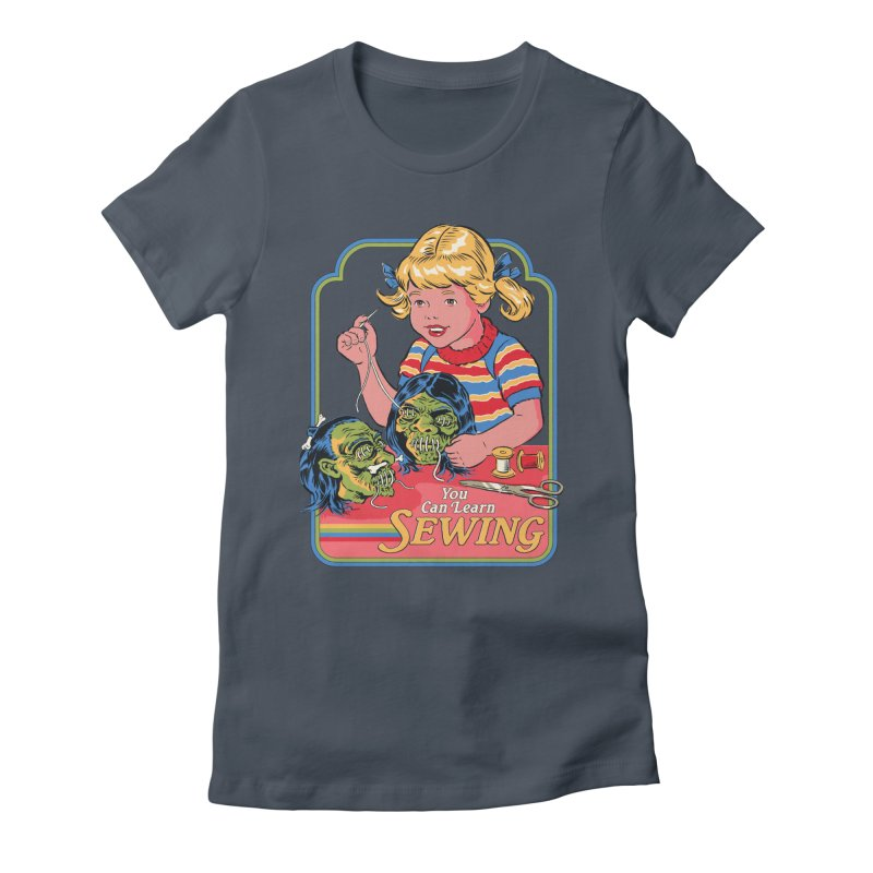 You Can Learn Sewing Women's T-Shirt by Steven Rhodes