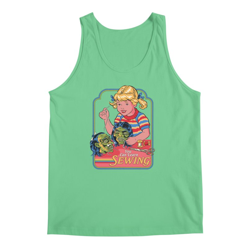 You Can Learn Sewing Men's Regular Tank by Steven Rhodes