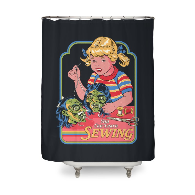 You Can Learn Sewing Home Shower Curtain by Steven Rhodes