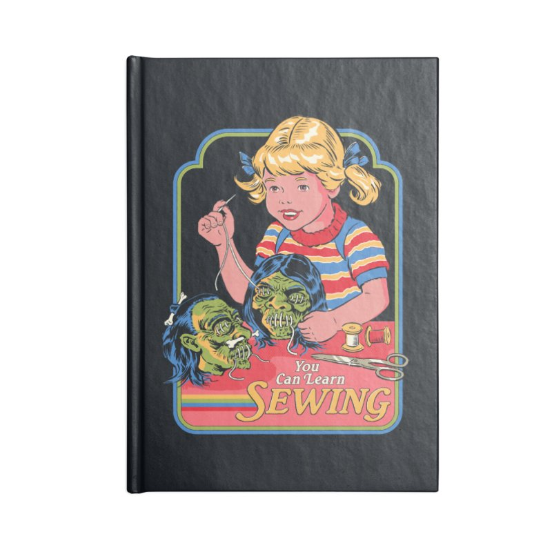 You Can Learn Sewing Accessories Notebook by Steven Rhodes