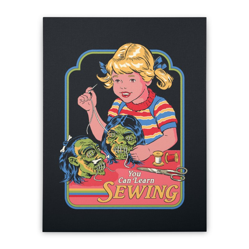 You Can Learn Sewing Home Stretched Canvas by Steven Rhodes