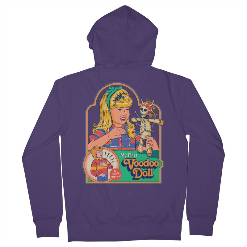 My First Voodoo Doll Women's French Terry Zip-Up Hoody by Steven Rhodes