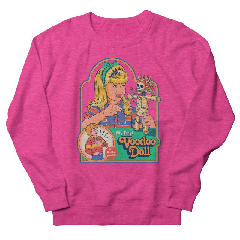 My First Voodoo Doll Women's French Terry Sweatshirt by Steven Rhodes