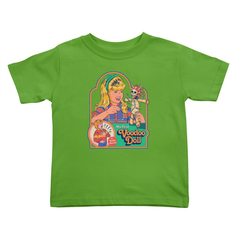 My First Voodoo Doll Kids Toddler T-Shirt by Steven Rhodes
