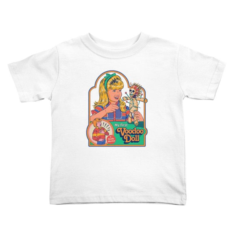 My First Voodoo Doll Kids Toddler T-Shirt by Steven Rhodes