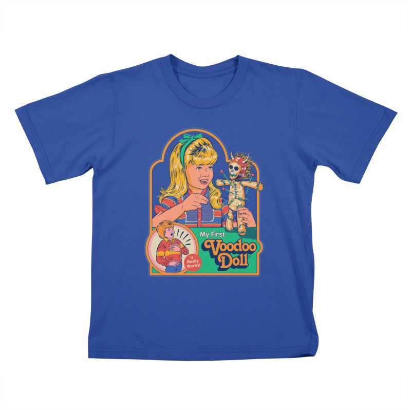 My First Voodoo Doll Kids T-Shirt by Steven Rhodes