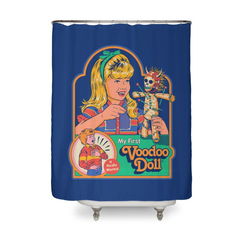 My First Voodoo Doll Home Shower Curtain by Steven Rhodes