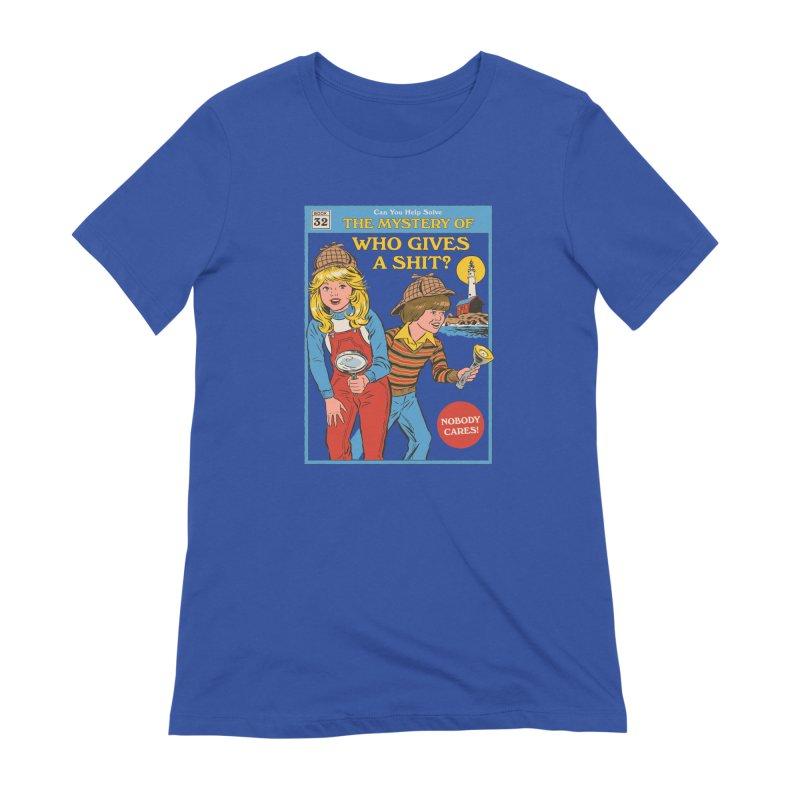 Who Gives a Sh*t? Women's T-Shirt by Steven Rhodes