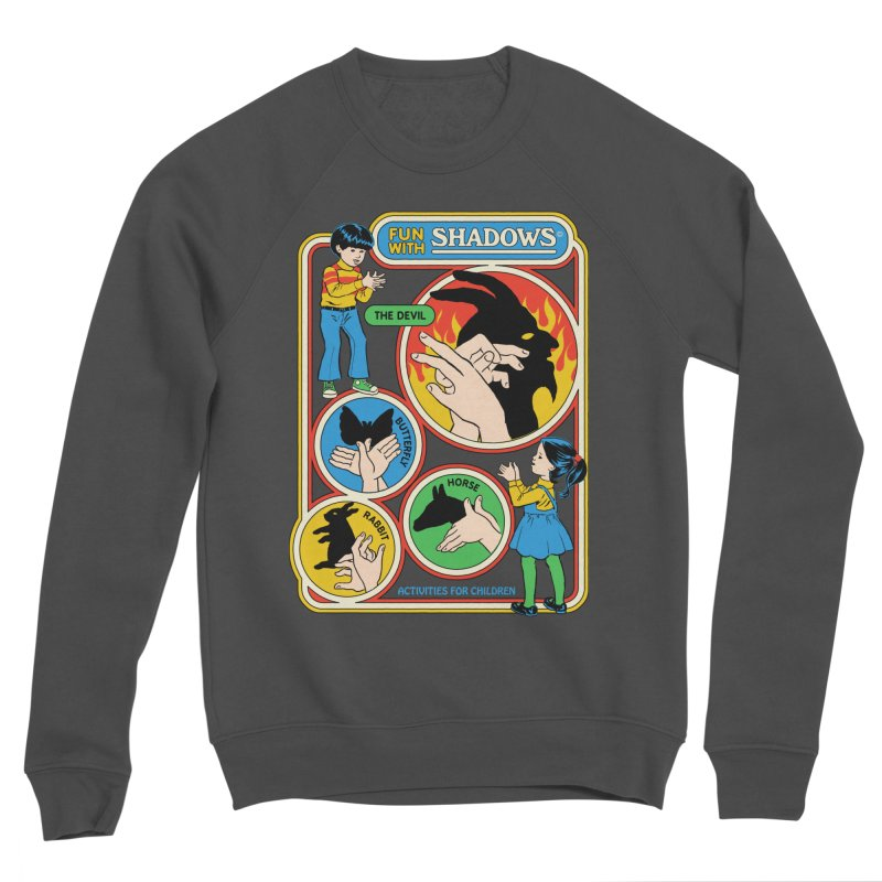 Fun With Shadows Men's Sponge Fleece Sweatshirt by Steven Rhodes