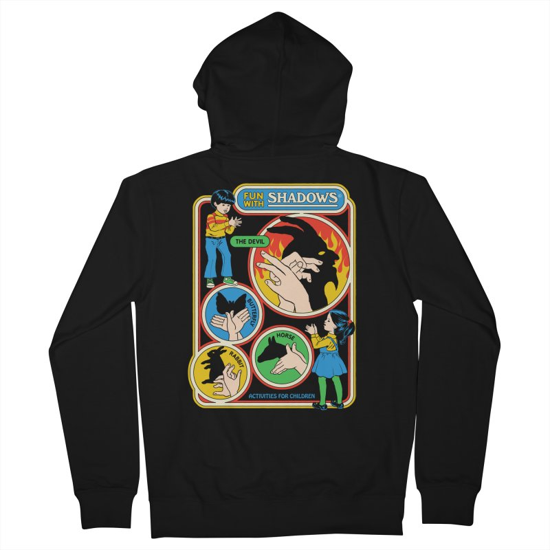 Fun With Shadows Women's French Terry Zip-Up Hoody by Steven Rhodes