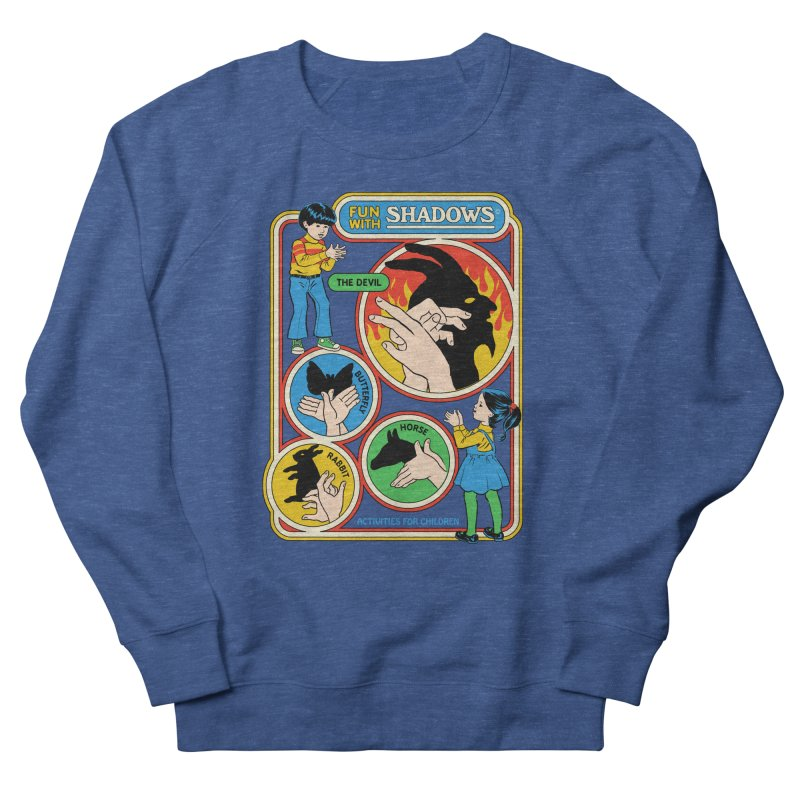 Fun With Shadows Men's French Terry Sweatshirt by Steven Rhodes