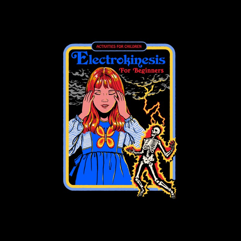 Electrokinesis for Beginners Women's Pullover Hoody by Steven Rhodes