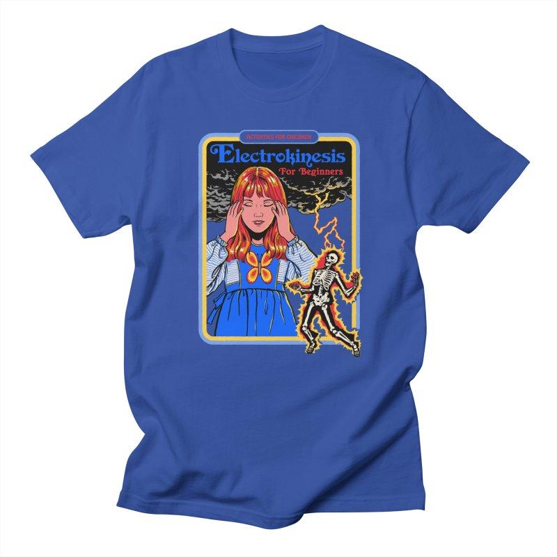 Electrokinesis for Beginners Men's T-Shirt by Steven Rhodes