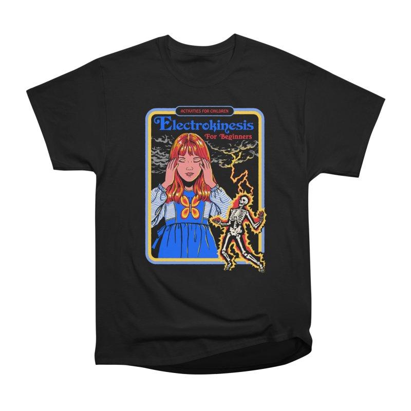Electrokinesis for Beginners Women's Heavyweight Unisex T-Shirt by Steven Rhodes