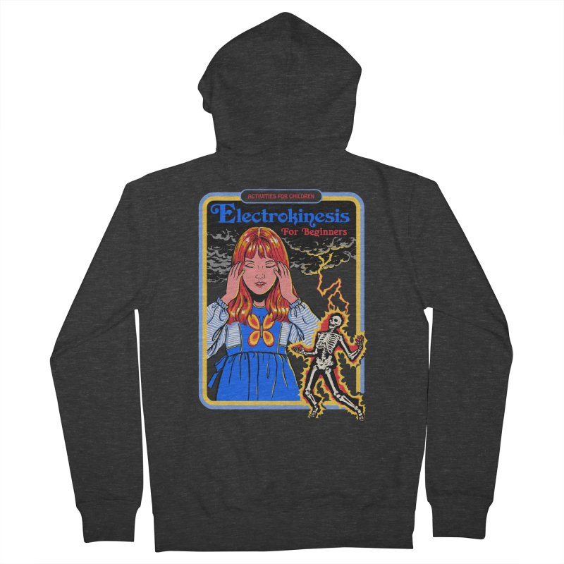Electrokinesis for Beginners Women's French Terry Zip-Up Hoody by Steven Rhodes
