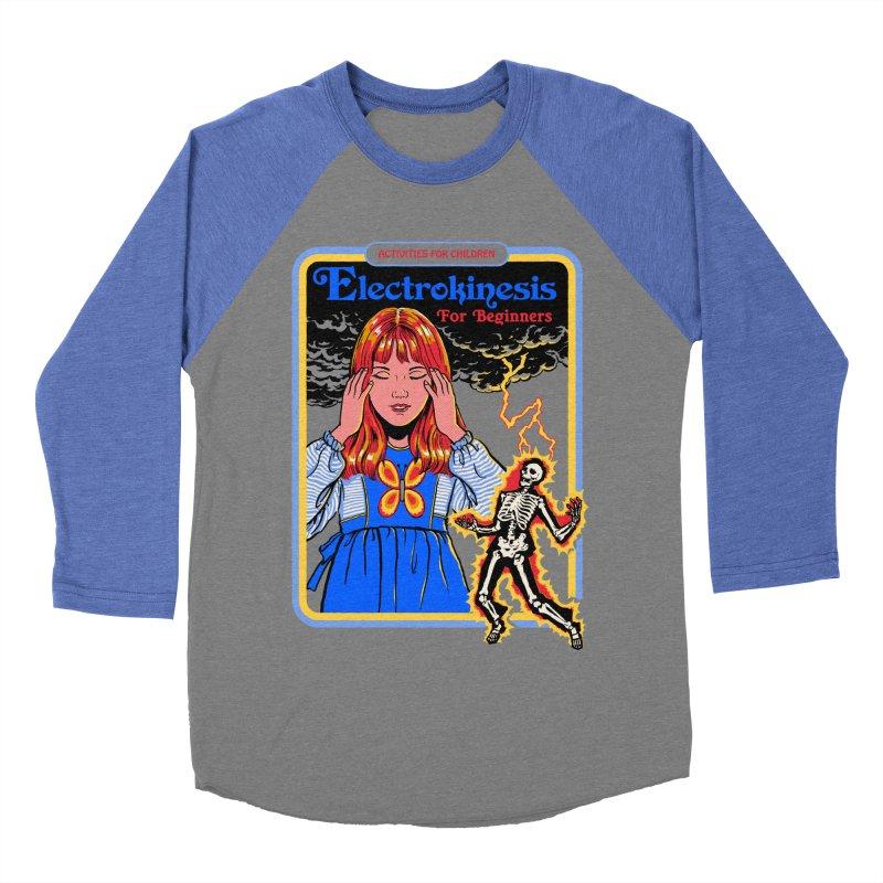 Electrokinesis for Beginners Men's Baseball Triblend Longsleeve T-Shirt by Steven Rhodes