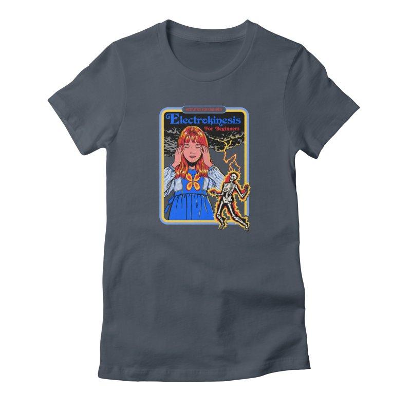 Electrokinesis for Beginners Women's T-Shirt by Steven Rhodes