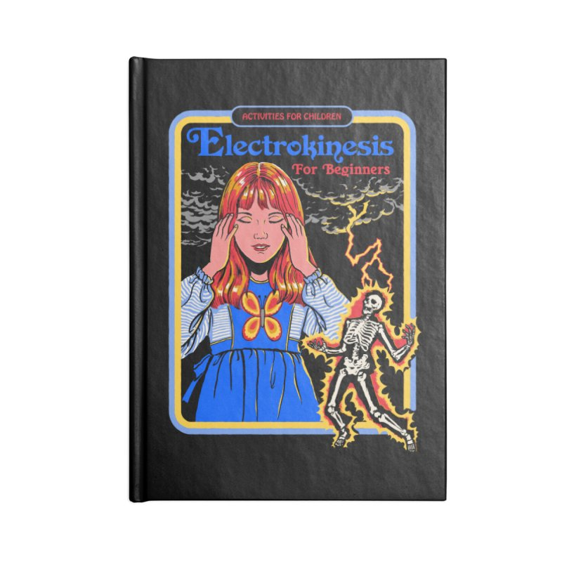 Electrokinesis for Beginners Accessories Notebook by Steven Rhodes