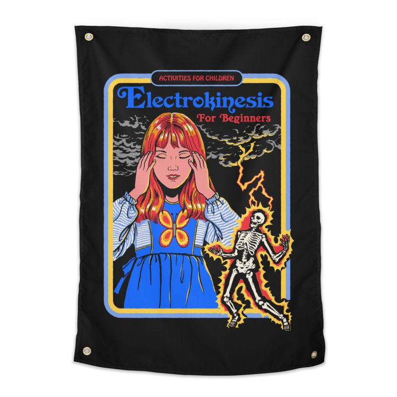 Electrokinesis for Beginners Home Tapestry by Steven Rhodes