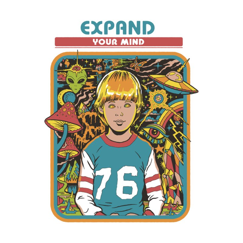 Expand Your Mind by Steven Rhodes