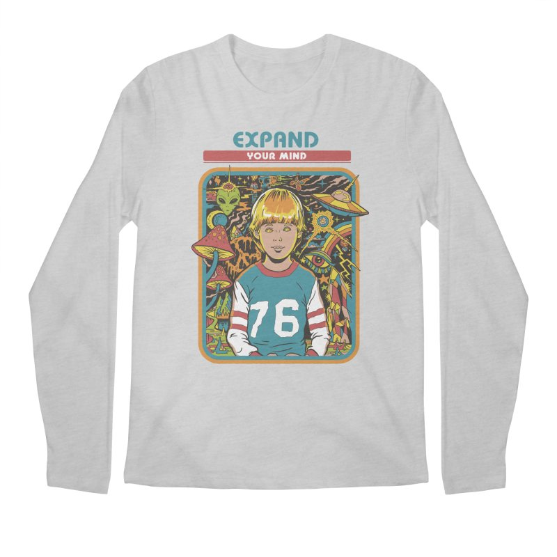 Expand Your Mind Men's Regular Longsleeve T-Shirt by Steven Rhodes
