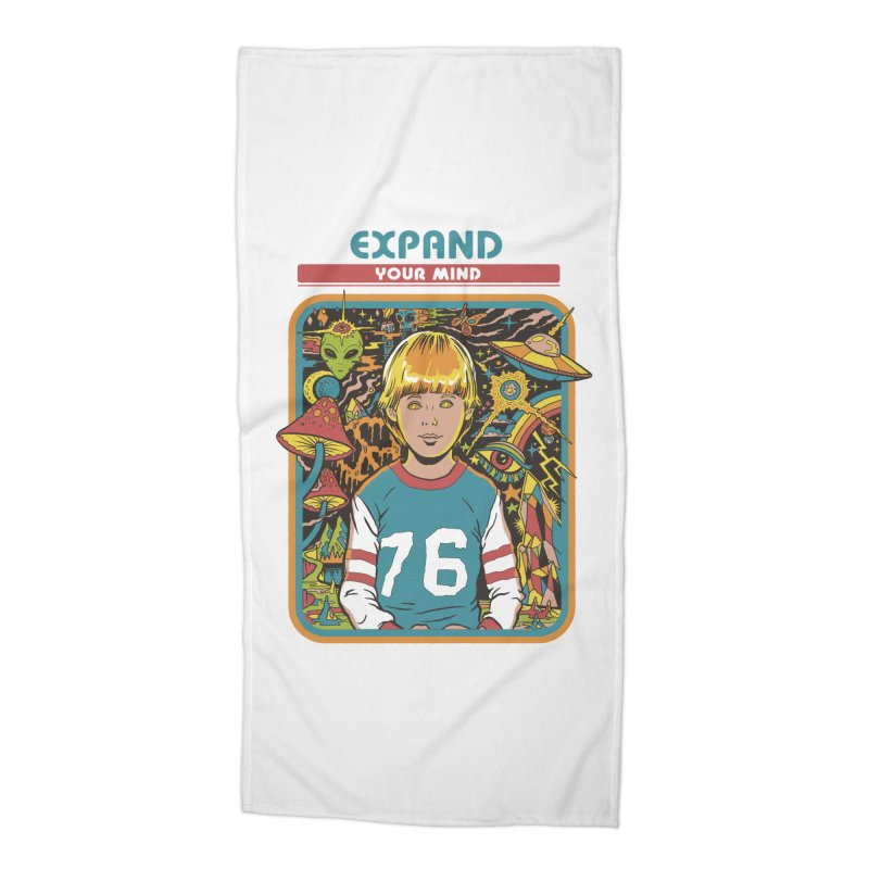 Expand Your Mind Accessories Beach Towel by Steven Rhodes