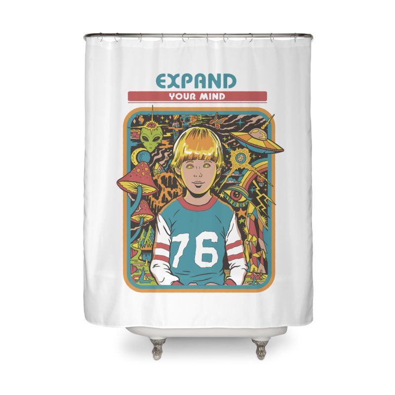 Expand Your Mind Home Shower Curtain by Steven Rhodes