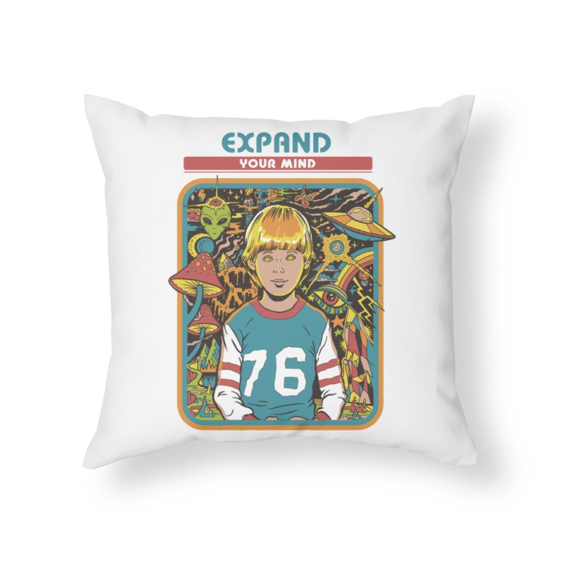 Expand Your Mind Home Throw Pillow by Steven Rhodes