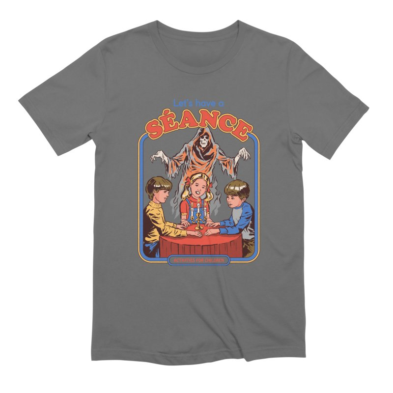 Let's Have a Seance Men's T-Shirt by Steven Rhodes