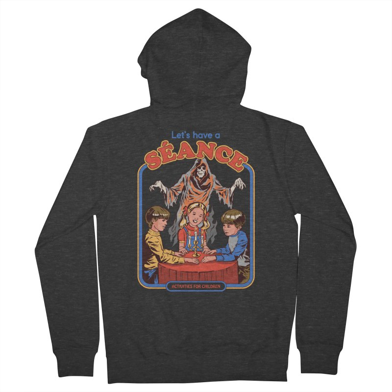 Let's Have a Seance Women's French Terry Zip-Up Hoody by Steven Rhodes