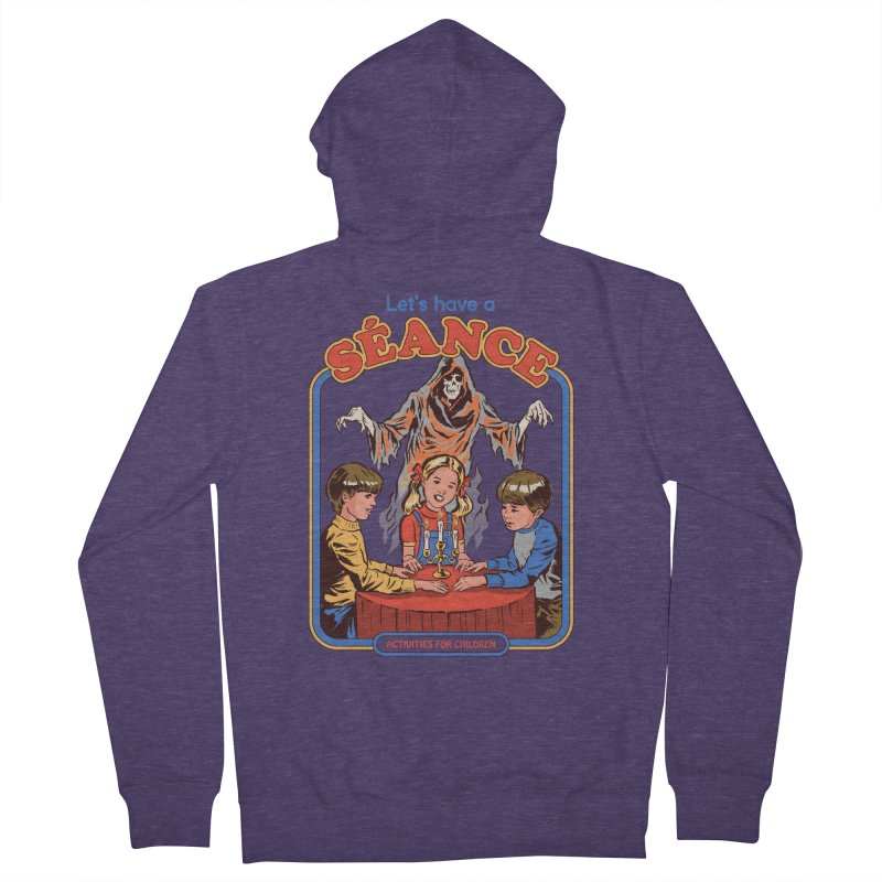 Let's Have a Seance Men's French Terry Zip-Up Hoody by Steven Rhodes