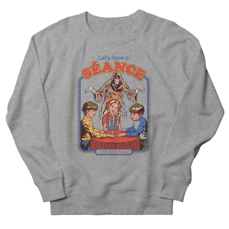 Let's Have a Seance Men's French Terry Sweatshirt by Steven Rhodes