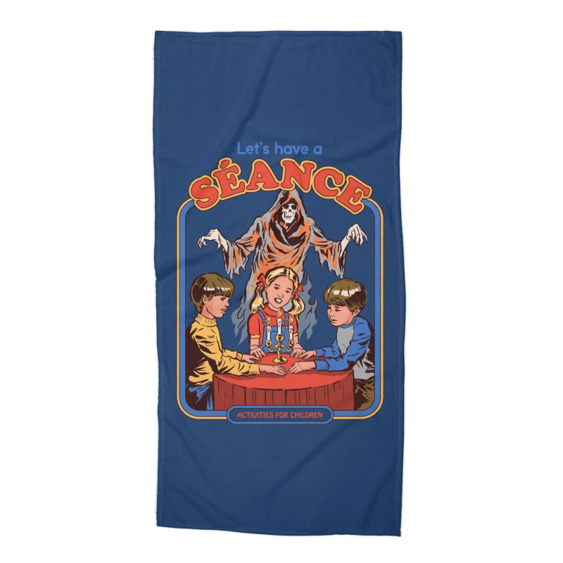 Let's Have a Seance Accessories Beach Towel by Steven Rhodes