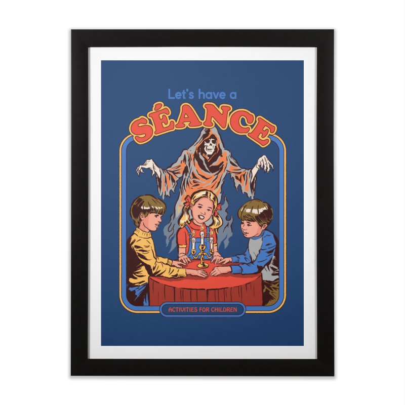 Let's Have a Seance Home Framed Fine Art Print by Steven Rhodes