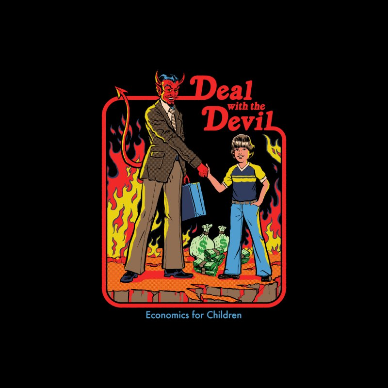 Deal with the Devil Men's T-Shirt by Steven Rhodes