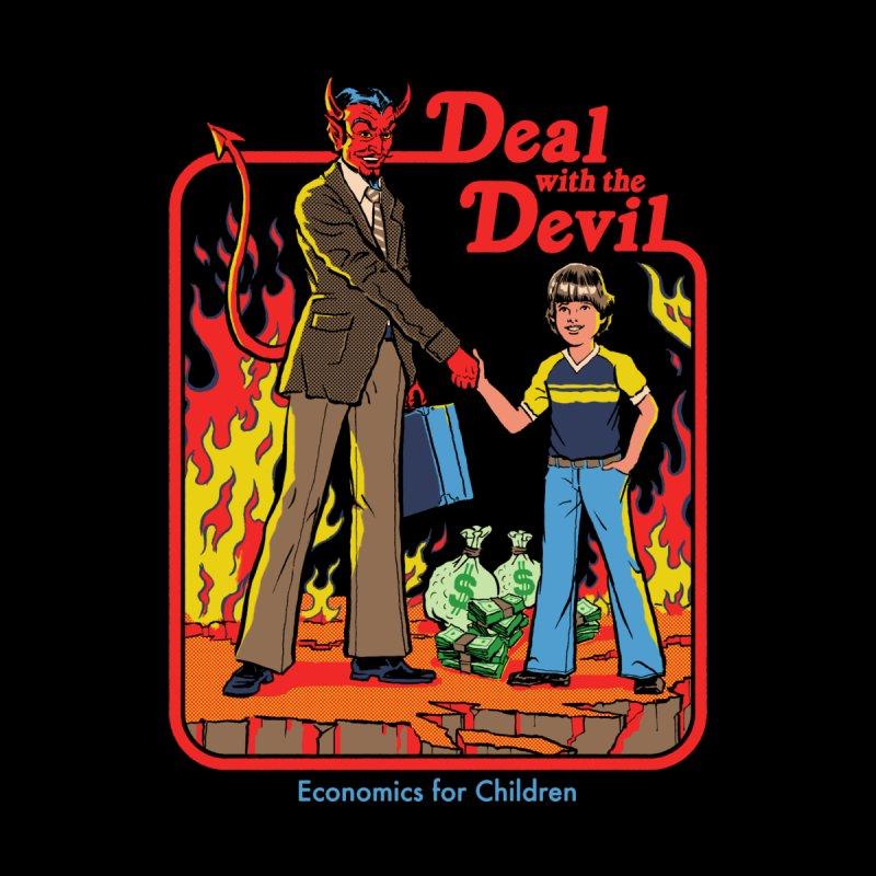 Deal with the Devil Men's V-Neck by Steven Rhodes