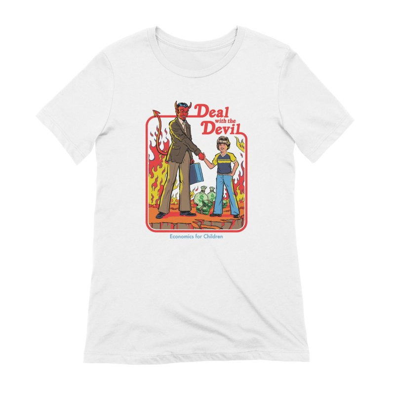 Deal with the Devil Women's Extra Soft T-Shirt by Steven Rhodes