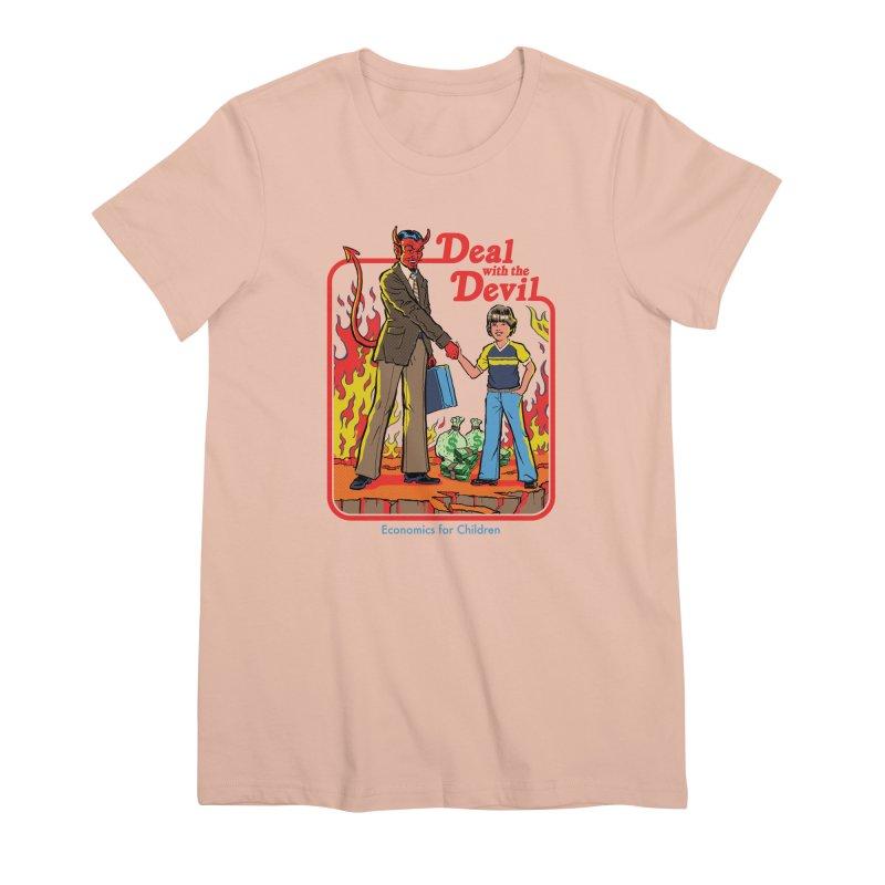 Deal with the Devil Women's Premium T-Shirt by Steven Rhodes