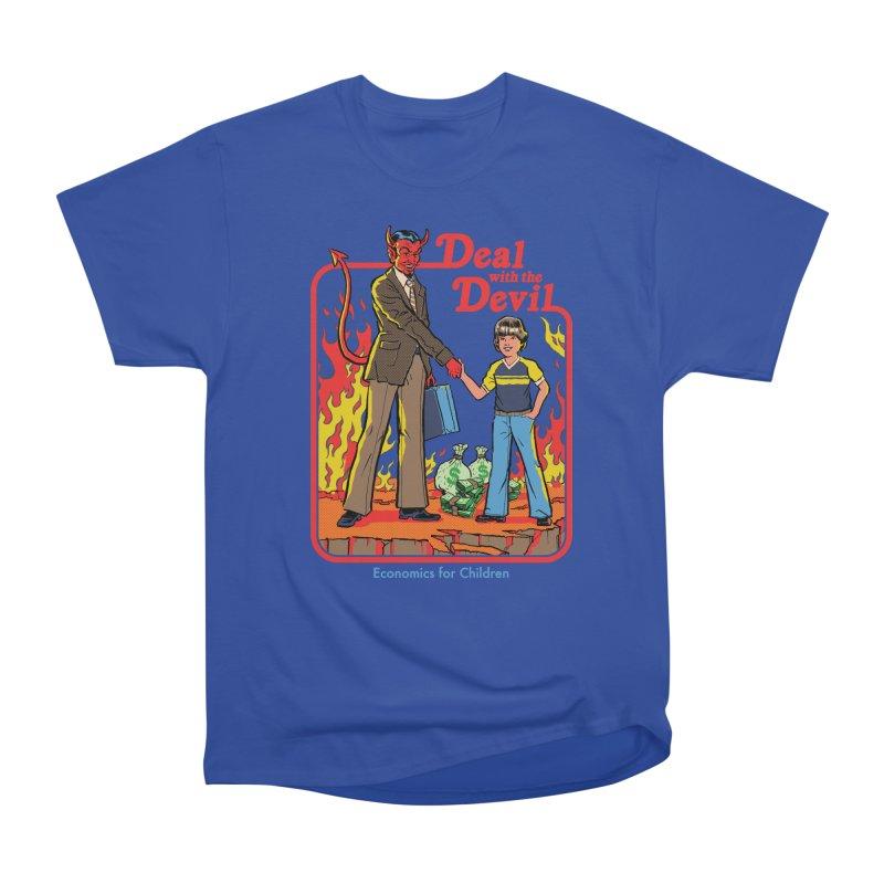 Deal with the Devil Women's Heavyweight Unisex T-Shirt by Steven Rhodes