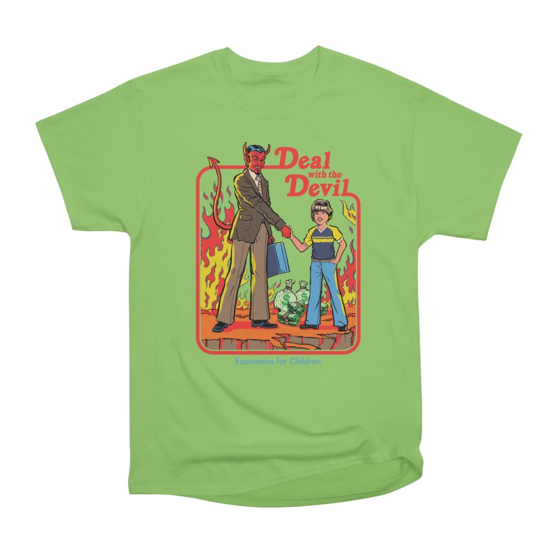Deal with the Devil Men's Heavyweight T-Shirt by Steven Rhodes