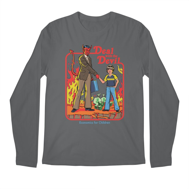 Deal with the Devil Men's Regular Longsleeve T-Shirt by Steven Rhodes