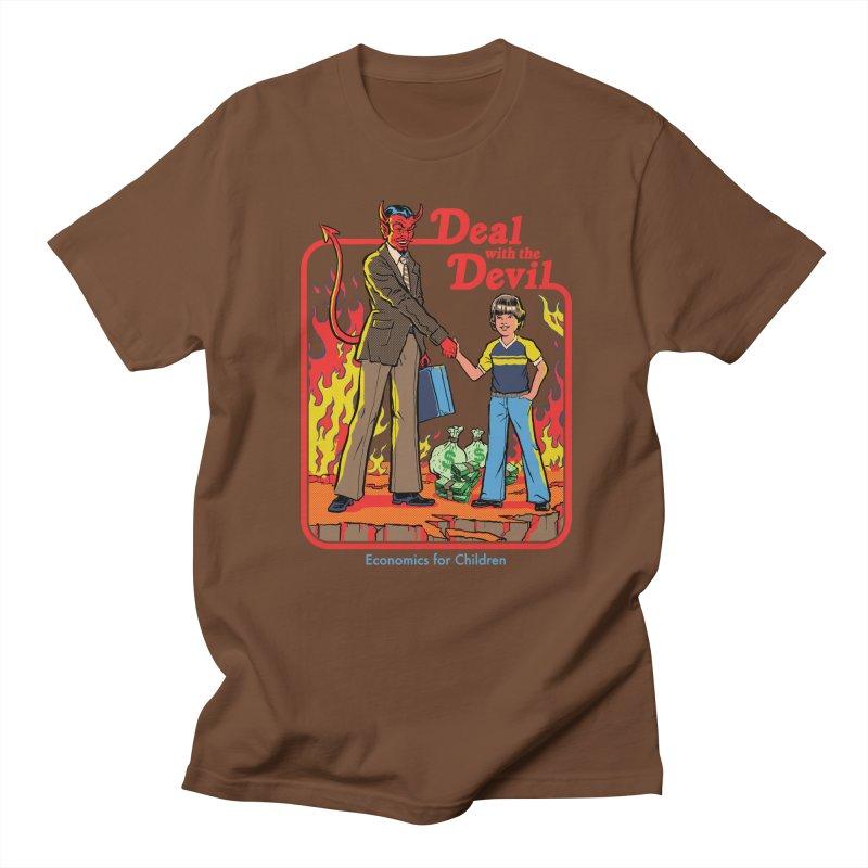 Deal with the Devil Men's Regular T-Shirt by Steven Rhodes