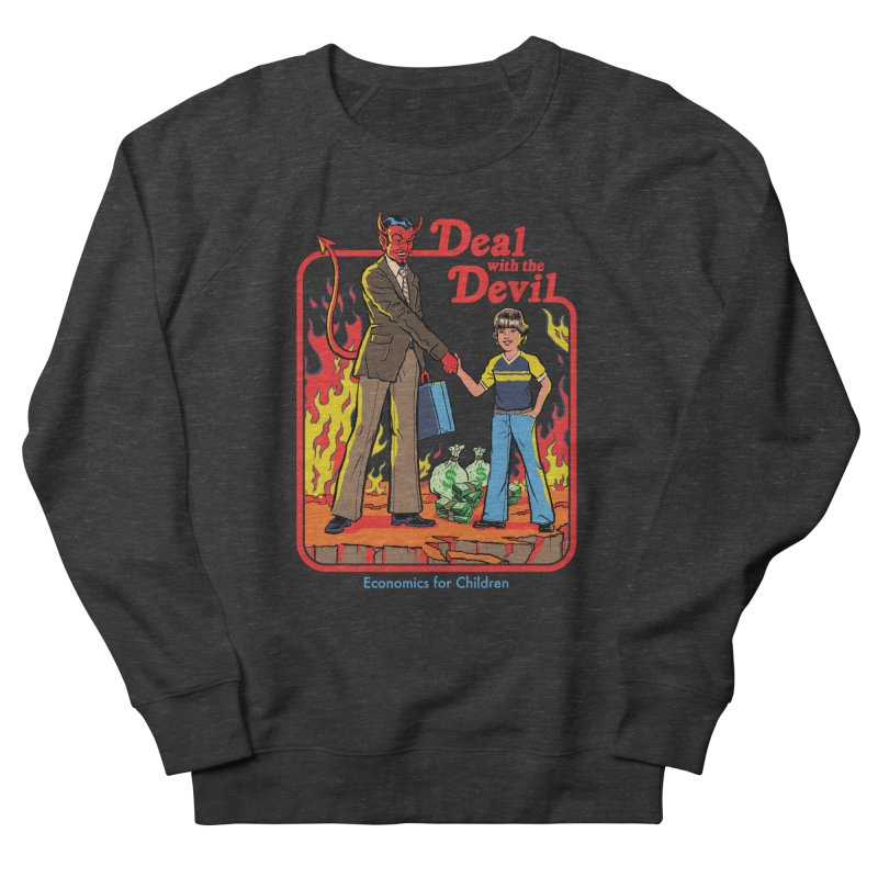 Deal with the Devil Women's French Terry Sweatshirt by Steven Rhodes