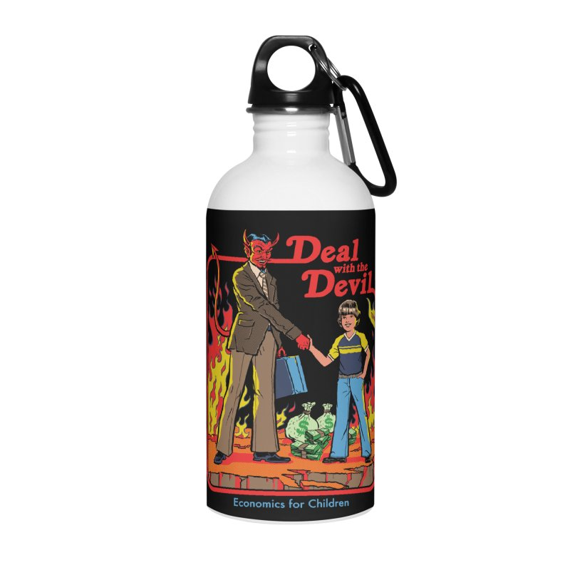 Deal with the Devil Accessories Water Bottle by Steven Rhodes