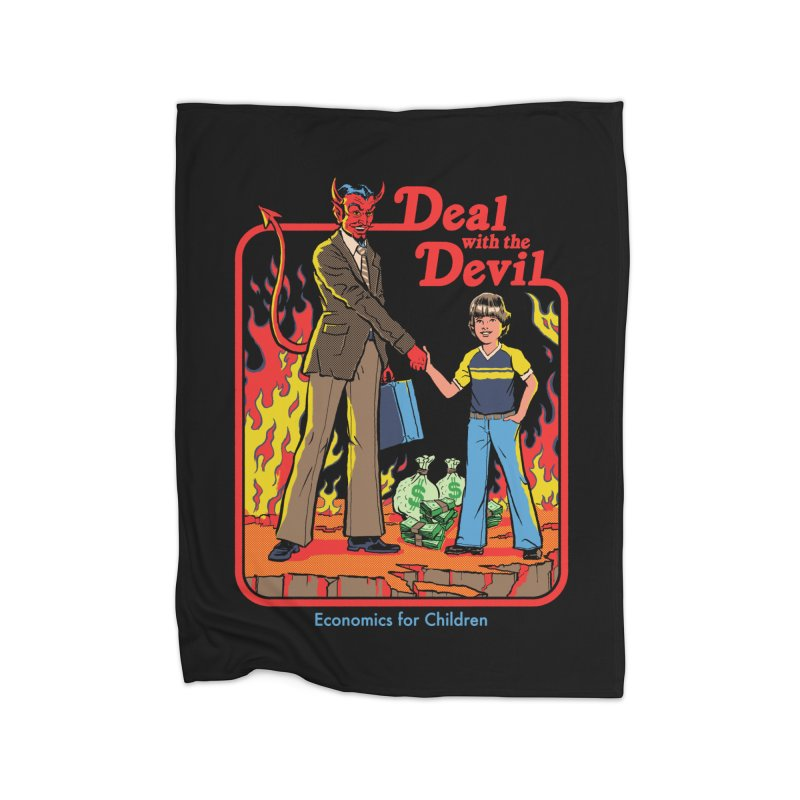 Deal with the Devil Home Blanket by Steven Rhodes