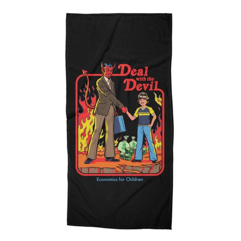 Deal with the Devil Accessories Beach Towel by Steven Rhodes